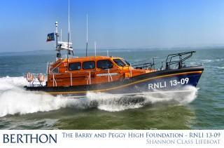 The Barry & Peggy High Foundation - RNLI 13-09 - Ilfracombe Lifeboat