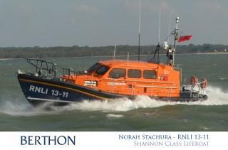 Norah Stachura - RNLI 13-11 - Shannon Class LIfeboat St Ives