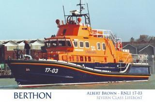 Severn Class Lifeboat Albert Brown 17-03