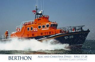 Severn Class Lifeboat Henry Alston Hewat RNLI 17-26