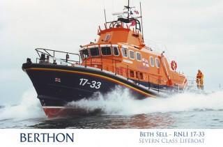 Severn Class Lifeboat RNLI Beth Sell 17-33
