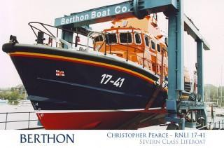 Christopher Pearce RNLI 17-41 Lifeboat