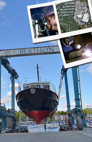 Commercial Shipyard Services from Berthon