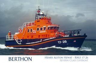 Severn Class Lifeboat Henry Alston Hewat 17-26