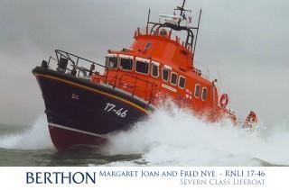 Severn Class Lifeboat 17-46 Margaret Joan and Fred Nye