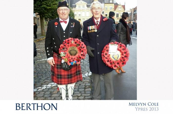 Melvyn Cole in Ypres Belgium 2013