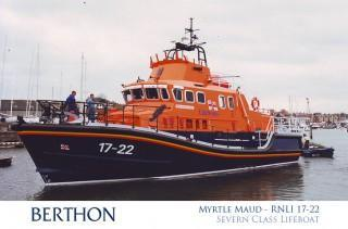 Severn Class Lifeboat Myrtle Maud