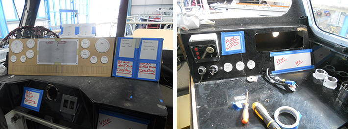 Wheel House in Refit of ABP PROVIDENCE