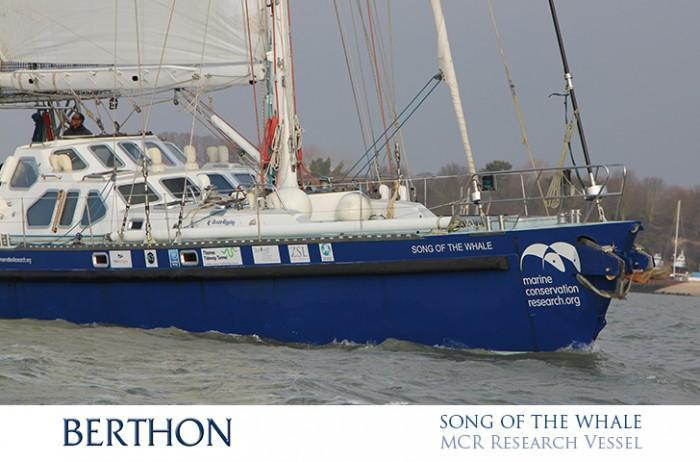 SONG OF THE WHALE research vessel