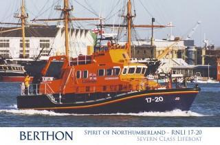 Severn Class Lifeboat RNLI Spirit of Northumberland