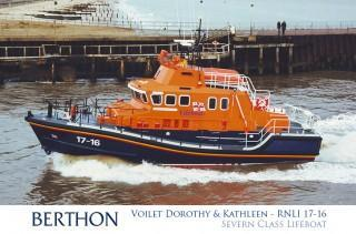 Severn Class Lifeboat Voilet Dorothy and Kathleen