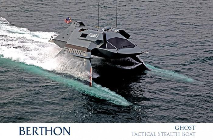 Ghost Tactitcal Stealth Boat - For Sale with Berthin International