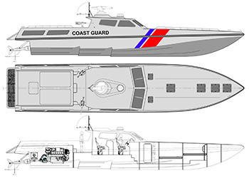 Interceptor boat design