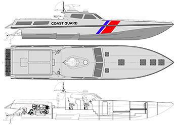 Interceptor boat design