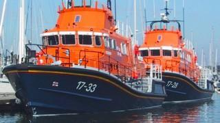 Severn Class Lifeboats built by Berthon Boat Co