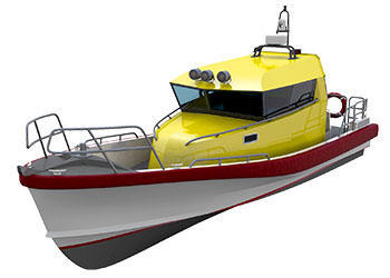 Work boat design