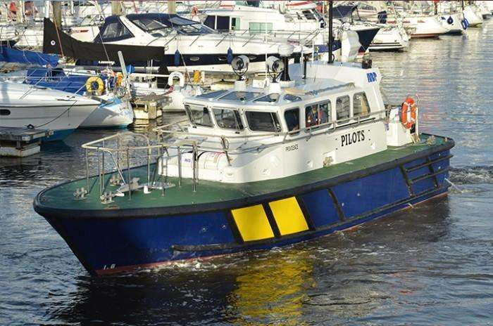 Pilot boat refit - ABP South Wales