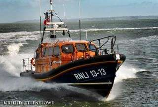RNLI Shannon 13-13 Sea Trials