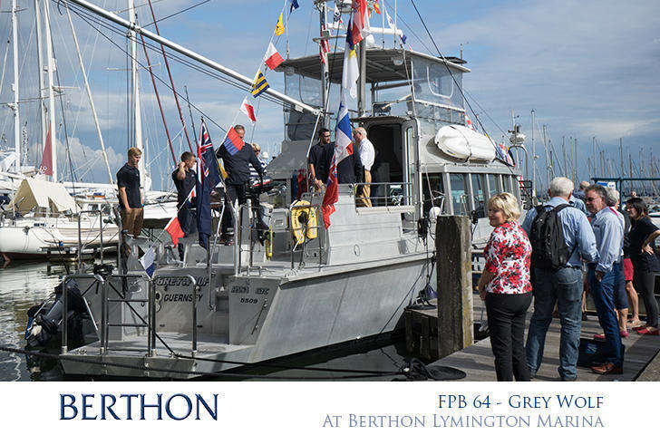 FPB 64 GREY WOLF at Berthon Lymington Marina