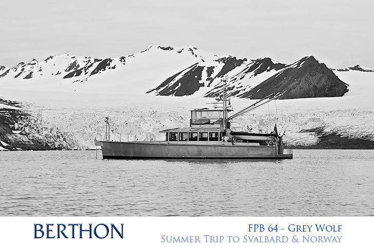 FPB 64 Grey Wolf in Svalbard