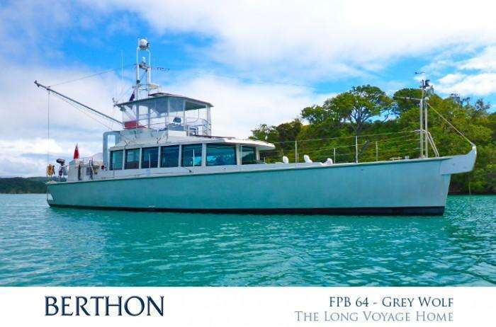 GREY WOLF FPB 64 in more tropical climates