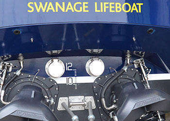 The commissioning, trials and acceptance of a brand new Shannon class lifeboat
