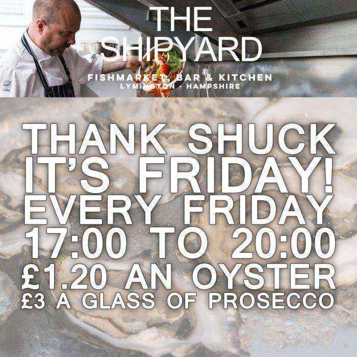 thank shuck its friday