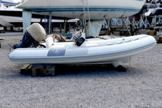 refurbished and modified Novurania 4.3M - Velsheda JK7 RIB