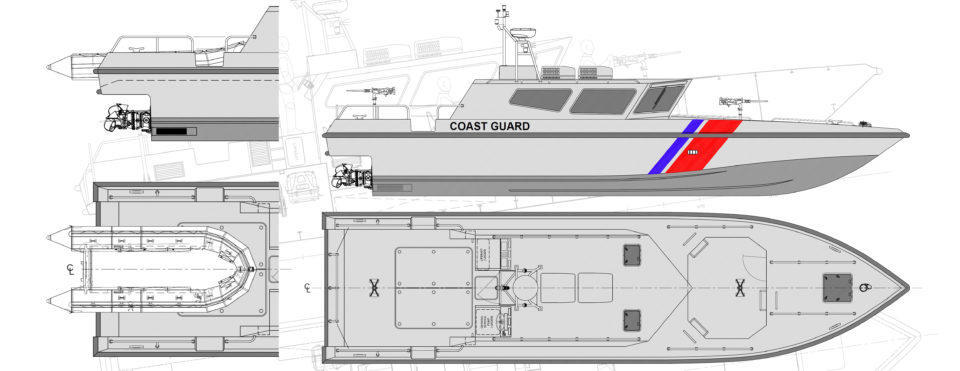 15m WJ Interceptor High Speed Patrol Craft
