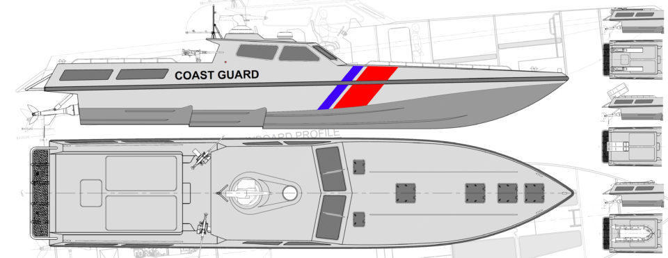 20m Interceptor High Speed Patrol Craft