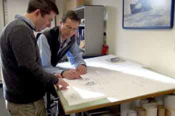 Project Management & Administration while working on a shannon lifeboat