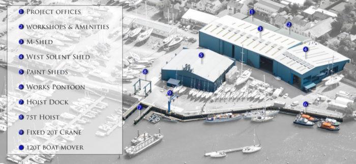 Berthon Boatyard Marine Services