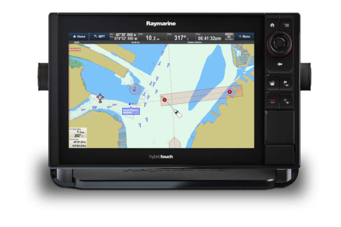 Example Multifunction Chartplotter, Radar, Fishfinder & Thermal Display
