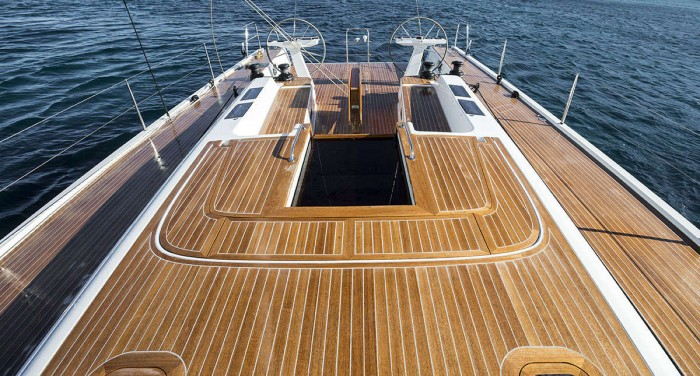 Solaris 58 deck Deck Layout