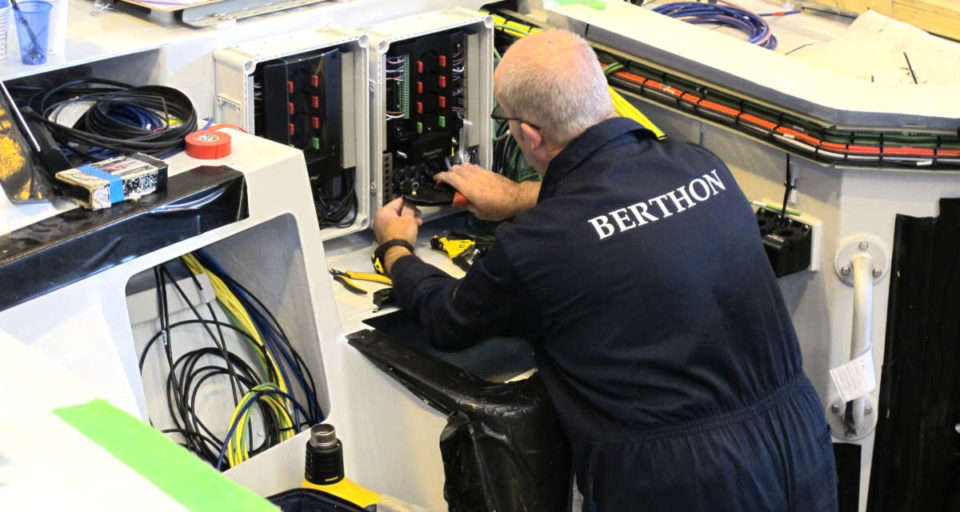 Berthon expert working on project