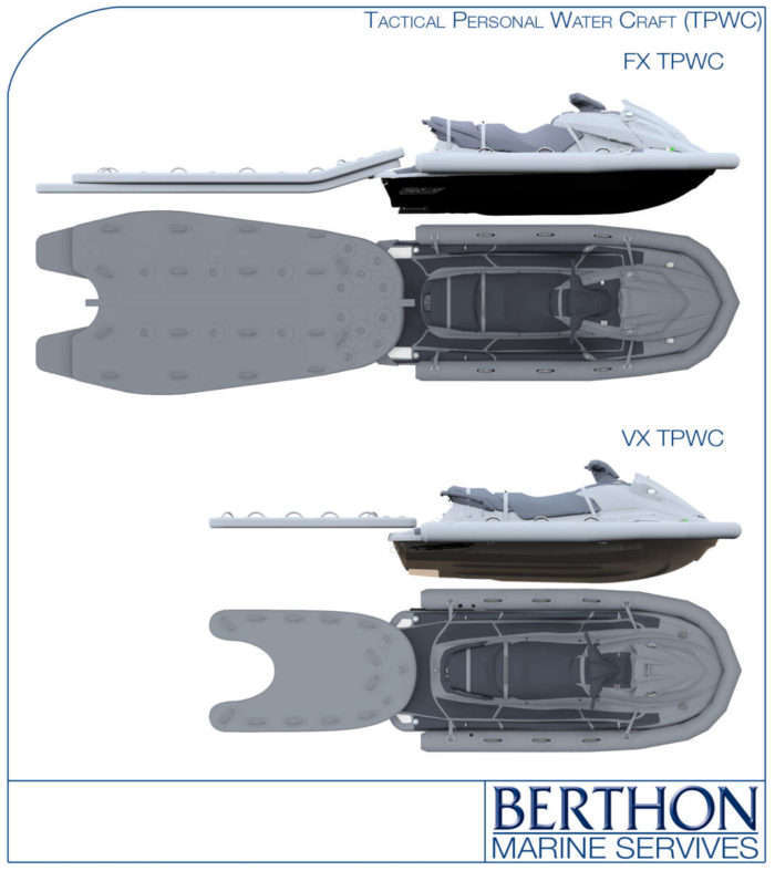 Tactical Personal Watercraft (TPWC) renders