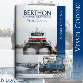 Vessel coding certification document