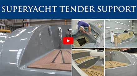Berthon Superyacht Tender Support Video Case Study