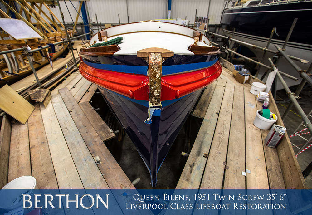 "Restoration of a 1951 Twin-Screw 35' 6"" Liverpool Class lifeboat"