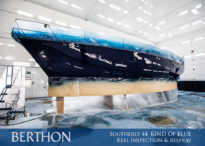 Southerly 44 keel inspection and respray 2