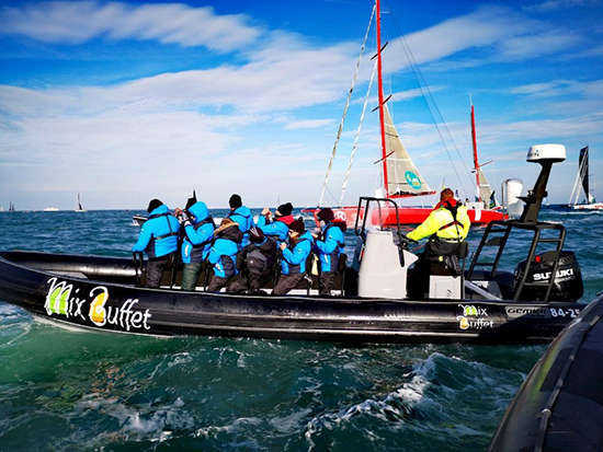 Supporting the Route du Rhum