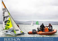 Berthon RIB Solutions loan a new Gemini Waverider 505 Sailing School Coaching & Safety Boat to the RLYC