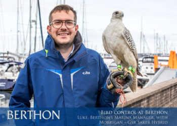 BIRD COLNTOL AT BERTHON - 2