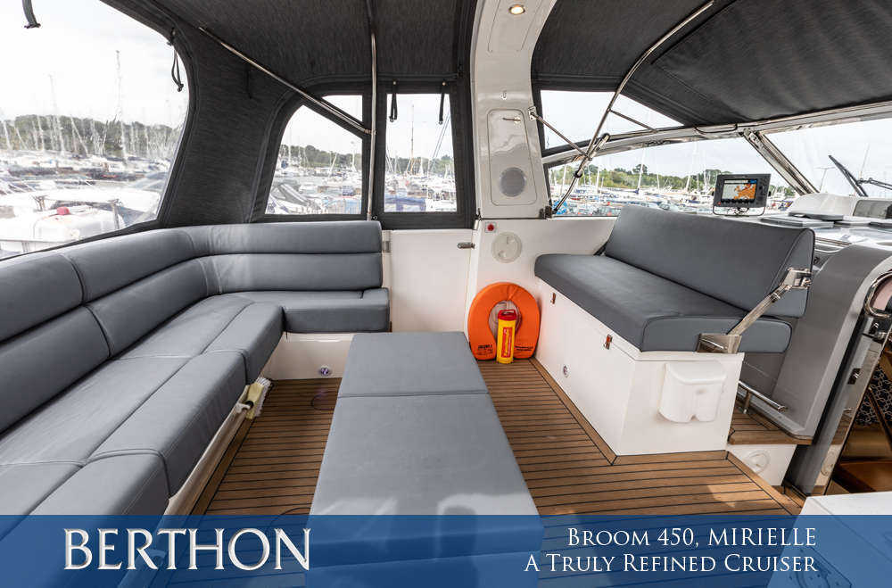 Broom 450, MIRIELLE –– A Truly Refined Cruiser