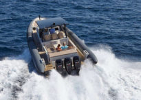 Berthon are proud to announce their partnership with Henshaw Inflatables Ltd – Chaser Yacht Tender 2