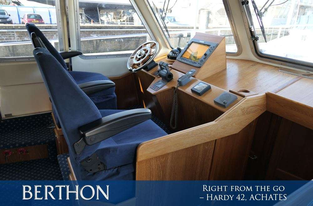 Right from the go – Hardy 42, ACHATES