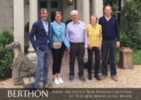 Legendary Naval Architect Ron Holland returns to Berthon where it all began 2