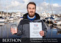 Joshua_Ross_Newly_Certified_Electrician_of_the_Year_Raymarine_British_Marine_Electrical_&_Electronics_Association_BMEEA_4