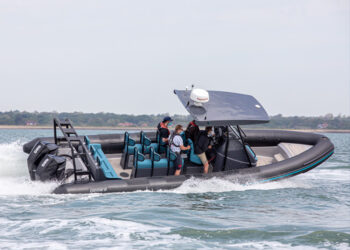 Custom built Gemini WR780 for the Terrace bar on the Isle of Wight to be uses as a water taxi