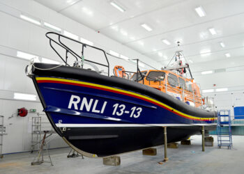 Shannon Class RNLI Lifeboat built by Berthon